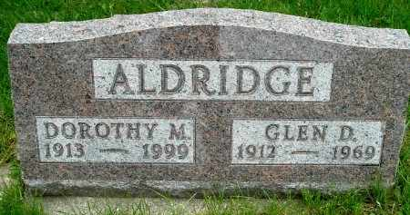 ALDRICH, GLEN D - Calhoun County, Michigan | GLEN D ALDRICH - Michigan Gravestone Photos