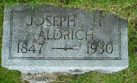 ALDRICH, JOSEPH H - Calhoun County, Michigan   JOSEPH H ALDRICH - Michigan Gravestone Photos