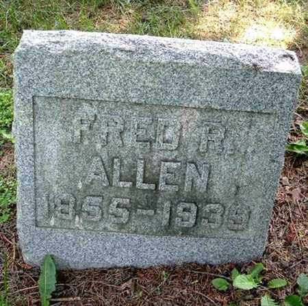 ALLEN, FRED R. - Calhoun County, Michigan | FRED R. ALLEN - Michigan Gravestone Photos