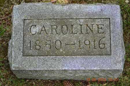 ANDERSON, CAROLINE - Calhoun County, Michigan | CAROLINE ANDERSON - Michigan Gravestone Photos