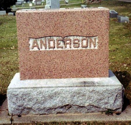 ANDERSON, FAMILY MARKER - Calhoun County, Michigan | FAMILY MARKER ANDERSON - Michigan Gravestone Photos