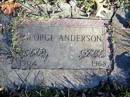 ANDERSON, GEORGE - Calhoun County, Michigan | GEORGE ANDERSON - Michigan Gravestone Photos