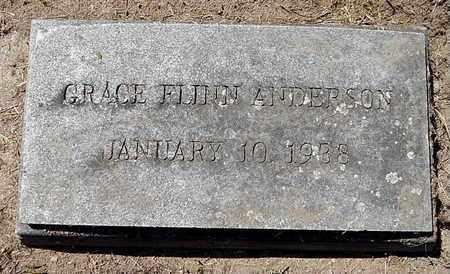 ANDERSON, GRACE - Calhoun County, Michigan | GRACE ANDERSON - Michigan Gravestone Photos