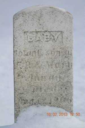 ANWAY, INFANT SON - Calhoun County, Michigan   INFANT SON ANWAY - Michigan Gravestone Photos