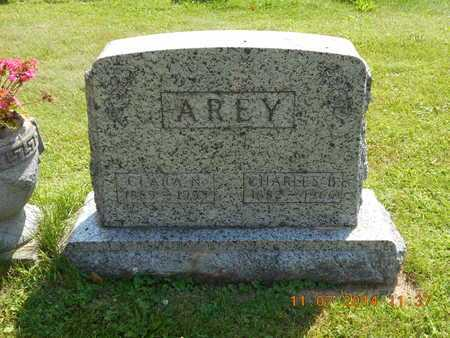 AREY, CHARLES B. - Calhoun County, Michigan | CHARLES B. AREY - Michigan Gravestone Photos