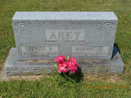 AREY, OLIVER V. - Calhoun County, Michigan | OLIVER V. AREY - Michigan Gravestone Photos
