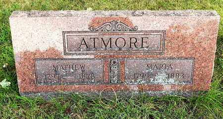 ATMORE, MATTHEW - Calhoun County, Michigan | MATTHEW ATMORE - Michigan Gravestone Photos