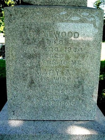 ATWOOD, BENJAMIN - Calhoun County, Michigan | BENJAMIN ATWOOD - Michigan Gravestone Photos