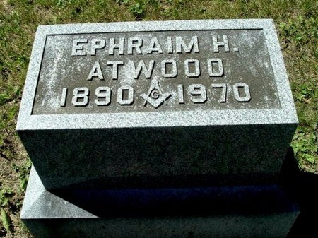 ATWOOD, EPHRAIM H. - Calhoun County, Michigan | EPHRAIM H. ATWOOD - Michigan Gravestone Photos