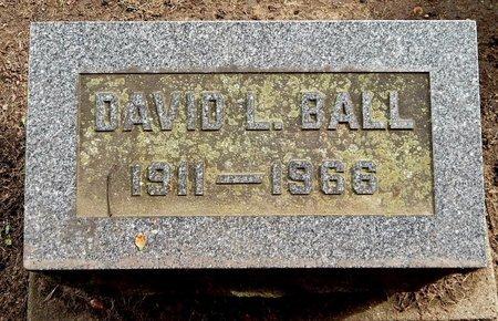 BALL, DAVID L - Calhoun County, Michigan | DAVID L BALL - Michigan Gravestone Photos