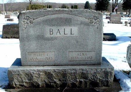 BALL, ALMA - Calhoun County, Michigan | ALMA BALL - Michigan Gravestone Photos