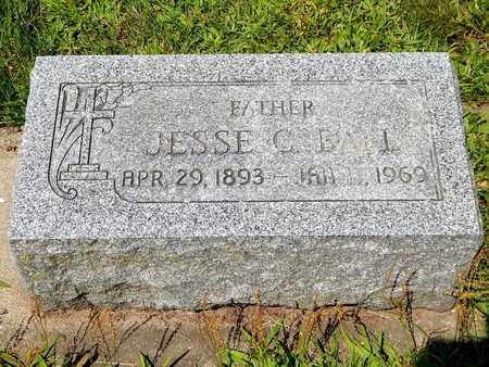 BALL, JESSE C. - Calhoun County, Michigan | JESSE C. BALL - Michigan Gravestone Photos