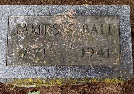 BALL, JAMES S - Calhoun County, Michigan   JAMES S BALL - Michigan Gravestone Photos