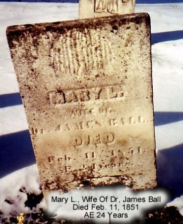BALL, MARY - Calhoun County, Michigan | MARY BALL - Michigan Gravestone Photos