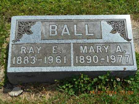 BALL, RAY E. - Calhoun County, Michigan | RAY E. BALL - Michigan Gravestone Photos