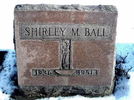 BALL, SHIRLEY - Calhoun County, Michigan | SHIRLEY BALL - Michigan Gravestone Photos