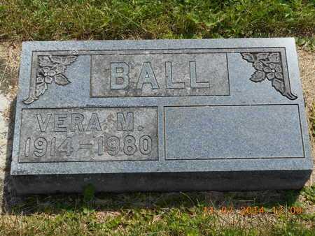 BALL, VERA M. - Calhoun County, Michigan | VERA M. BALL - Michigan Gravestone Photos
