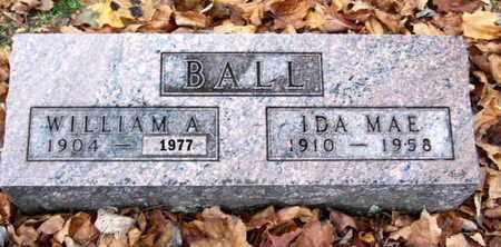 BALL, IDA MAE - Calhoun County, Michigan | IDA MAE BALL - Michigan Gravestone Photos