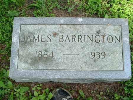BARRINGTON, JAMES - Calhoun County, Michigan   JAMES BARRINGTON - Michigan Gravestone Photos