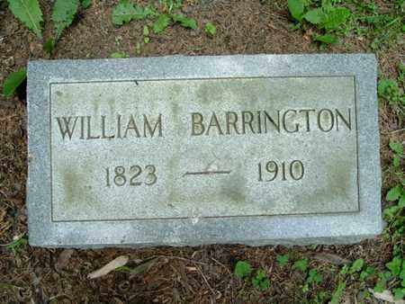 BARRINGTON, WILLIAM - Calhoun County, Michigan | WILLIAM BARRINGTON - Michigan Gravestone Photos