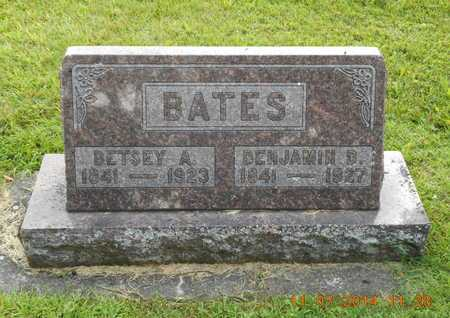BATES, BENJAMIN D. - Calhoun County, Michigan | BENJAMIN D. BATES - Michigan Gravestone Photos