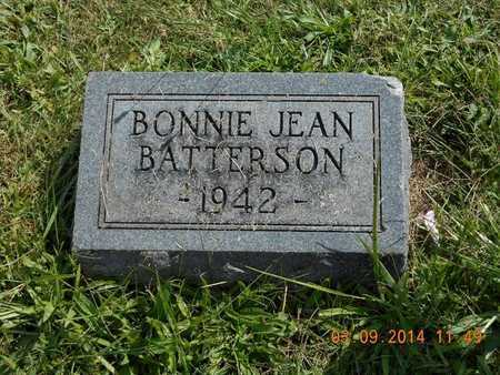 BATTERSON, BONNIE JEAN - Calhoun County, Michigan | BONNIE JEAN BATTERSON - Michigan Gravestone Photos