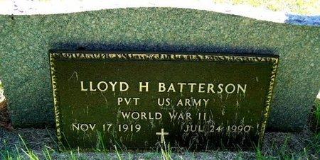 BATTERSON, LLOYD H - Calhoun County, Michigan | LLOYD H BATTERSON - Michigan Gravestone Photos