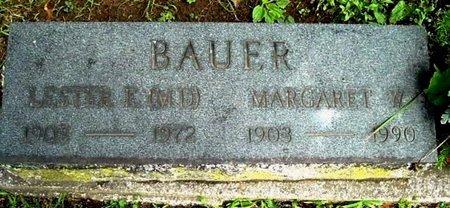 BAUER, LESTER - Calhoun County, Michigan | LESTER BAUER - Michigan Gravestone Photos