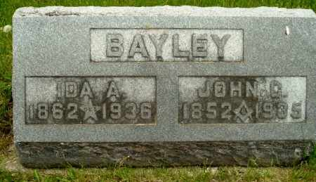 BAYLEY, IDA A - Calhoun County, Michigan | IDA A BAYLEY - Michigan Gravestone Photos