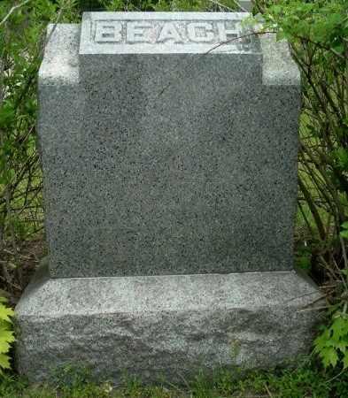 BEACH, FAMILY MONUMENT - Calhoun County, Michigan   FAMILY MONUMENT BEACH - Michigan Gravestone Photos