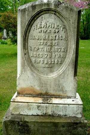 BEACH, HARRIET - Calhoun County, Michigan | HARRIET BEACH - Michigan Gravestone Photos