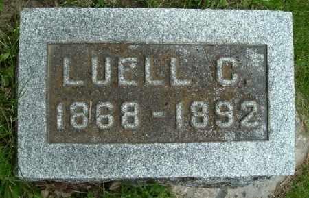 HISCOCK, LUELL C - Calhoun County, Michigan | LUELL C HISCOCK - Michigan Gravestone Photos