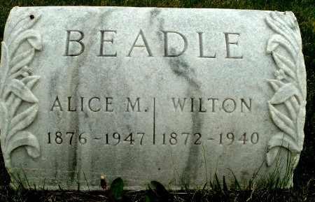 BEADLE, WILTON - Calhoun County, Michigan   WILTON BEADLE - Michigan Gravestone Photos