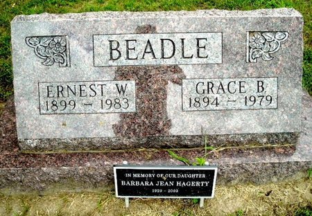 BEADLE, ERNEST W - Calhoun County, Michigan | ERNEST W BEADLE - Michigan Gravestone Photos