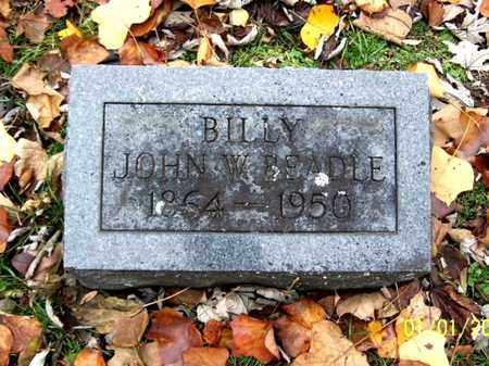 BEADLE, JOHN W - Calhoun County, Michigan | JOHN W BEADLE - Michigan Gravestone Photos
