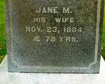 BEADLE, JANE M - Calhoun County, Michigan | JANE M BEADLE - Michigan Gravestone Photos