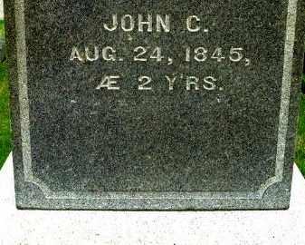 BEADLE, JOHN C - Calhoun County, Michigan | JOHN C BEADLE - Michigan Gravestone Photos