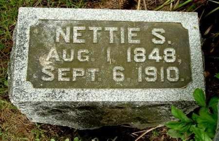 BEADLE, NETTIE S - Calhoun County, Michigan | NETTIE S BEADLE - Michigan Gravestone Photos