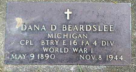 BEARDSLEE, DANA D - Calhoun County, Michigan | DANA D BEARDSLEE - Michigan Gravestone Photos