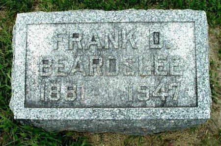 BEARDSLEE, FRANK D - Calhoun County, Michigan   FRANK D BEARDSLEE - Michigan Gravestone Photos