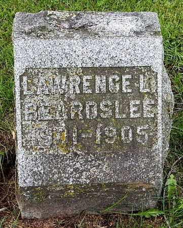 BEARDSLEE, LAWRENCE L - Calhoun County, Michigan | LAWRENCE L BEARDSLEE - Michigan Gravestone Photos