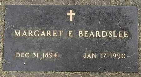 BEARDSLEE, MARGARET E - Calhoun County, Michigan | MARGARET E BEARDSLEE - Michigan Gravestone Photos