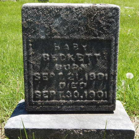 BECKETT, BABY - Calhoun County, Michigan | BABY BECKETT - Michigan Gravestone Photos