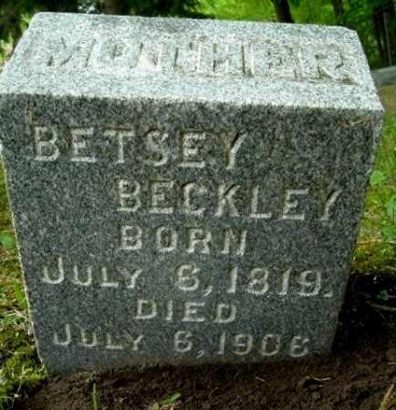 BECKLEY, BETSEY - Calhoun County, Michigan   BETSEY BECKLEY - Michigan Gravestone Photos