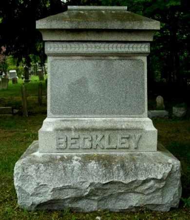 BECKLEY, FAMILY MONUMENT - Calhoun County, Michigan | FAMILY MONUMENT BECKLEY - Michigan Gravestone Photos