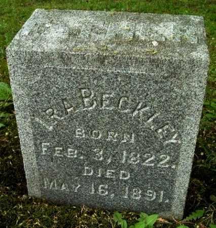 BECKLEY, IRA - Calhoun County, Michigan | IRA BECKLEY - Michigan Gravestone Photos