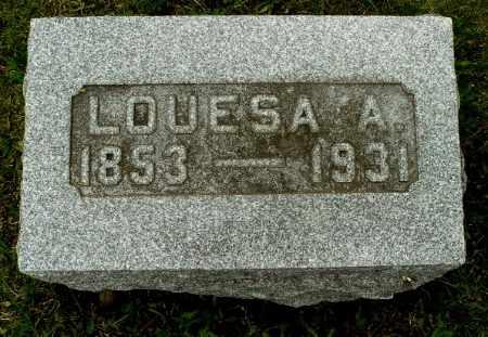 BECKLEY, LOUESA A - Calhoun County, Michigan | LOUESA A BECKLEY - Michigan Gravestone Photos