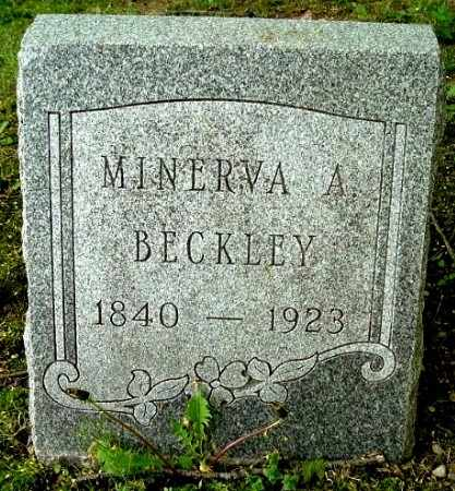 BECKLEY, MINERVA A - Calhoun County, Michigan | MINERVA A BECKLEY - Michigan Gravestone Photos