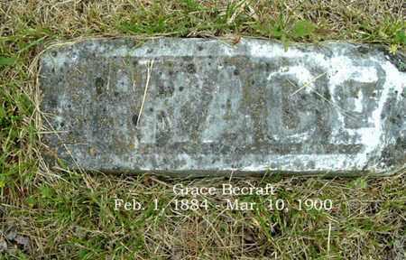 BECRAFT, GRACE - Calhoun County, Michigan   GRACE BECRAFT - Michigan Gravestone Photos
