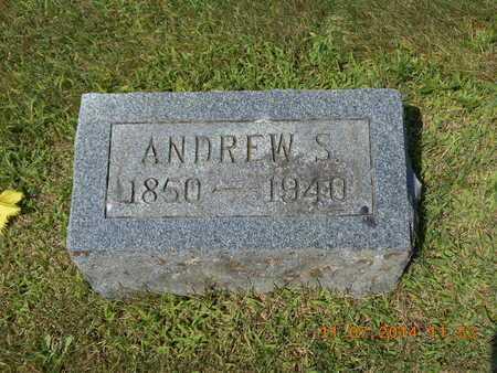 BENHAM, ANDREW S. - Calhoun County, Michigan | ANDREW S. BENHAM - Michigan Gravestone Photos